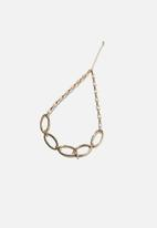 Rubi - Olivia open link chunky chain necklace - gold