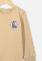 Cotton On - Tom long sleeve tee - beige