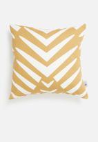 Sixth Floor - Sara cushion cover - mustard