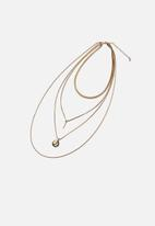Rubi - Luxe layers treasures necklace  - gold