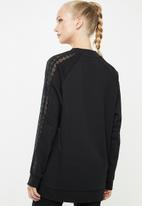 adidas Originals - Bellista lace sweatshirt - black