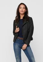 ONLY - Melanie biker jacket - black
