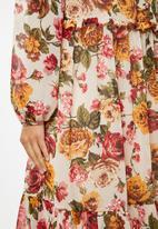 VELVET - Floral midi dress - multi
