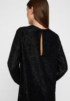 Vero Moda - Isolda short dress - black