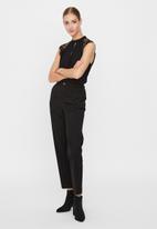 Vero Moda - Milla lace blouse - black