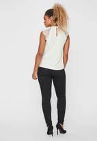 Vero Moda - Milla lace blouse - off white