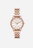 Michael Kors - Lexington wrist watch-rose gold