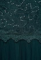 MILLA - Lace maxi dress - teal