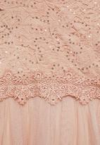 MILLA - Lace maxi dress - pink