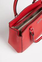 GUESS - Declan large satchel - rouge
