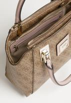 GUESS - Candace society satchel - brown