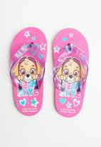 Character Fashion - Paw patrol flip flops mid - pink