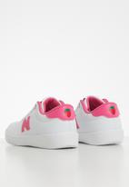 New Balance  - Girls lifestyle wide - white/pink