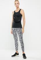 adidas Performance - Tko 7/8 tights - white & black