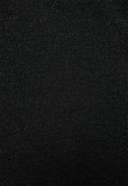 Blake - Halter mini dress - black