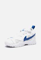 Nike - Air Barrage low - white & hyper blue