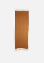 edit - Infinity scarf - brown
