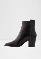 ALDO - Arolia leather boot - black