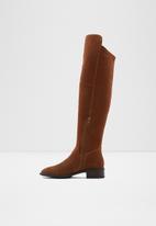 ALDO - Byssa suede boot - brown