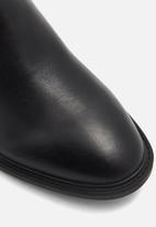 ALDO - Byssa leather boot - black