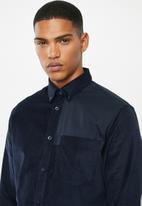 Selected Homme - Correy slim fit shirt - navy