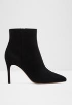 ALDO - Wiema suede boot - black