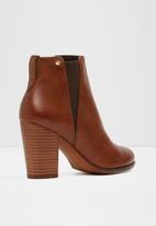 ALDO - Pessa leather boot - tan