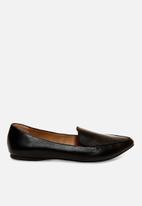 Steve Madden - Feather loafer - black
