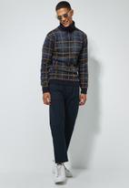 Superbalist - Check roll neck knit - multi