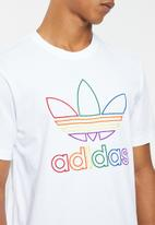 adidas Originals - Pride tee - white