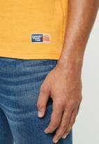 Superdry. - Track & field tee - yellow