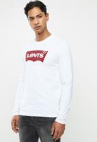 Levi's® - Graphic set-in crew neck tee - white