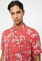 Factorie - Resort short sleeve shirt - blossoms