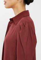 Glamorous - Swing shirt dress  - brick red