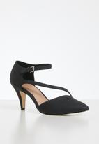 Call It Spring - Emelya heel - black