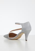 Call It Spring - Emelya heel - silver