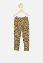 Cotton On - Keira cuff pant - sand dune