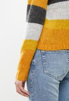 Jacqueline de Yong - Cordella pullover - cream & yellow