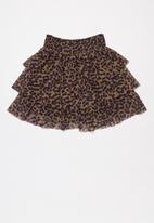 name it - Lucky skirt - brown & black