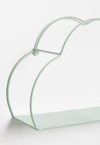 H&S - Cloud shelf - green
