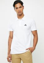 adidas Performance - Adidas short sleeve polo - white