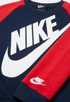 Nike - Nike kids boys overszd futura crew set  - multi