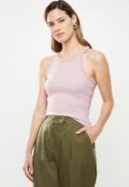 Cotton On - The turn back tank top - pink