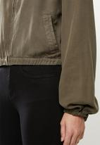 Cotton On - Femme utility bomber - khaki