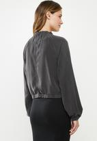 Cotton On - Femme utility bomber - charcoal