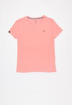 POLO - Girls kelly tee - pink