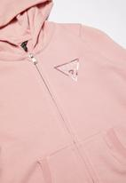 GUESS - Long sleeve blaire active top  - pink
