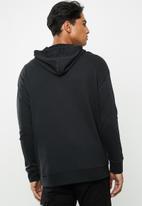 Reebok - Te linear logo hoodie - black