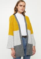 Jacqueline de Yong - Newelanor long sleeve cardigan - multi