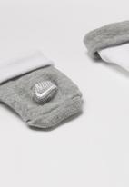 Nike - Nike futura bootie  2 pack - grey & white